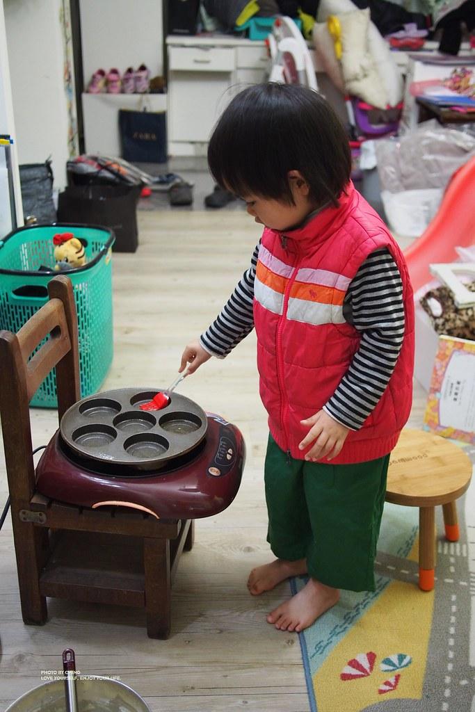 07有機堅果飲-自己做紅豆餅車輪餅
