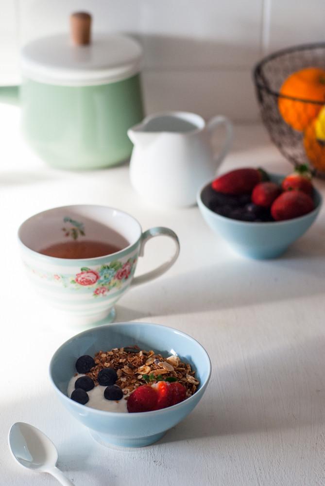 Desayuno con granola