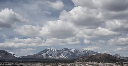 arizona sky panorama weather clouds landscape flagstaff sanfranciscopeaks doneypark