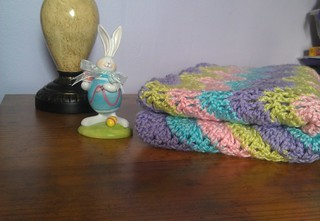 Easy Baby Ripple Crochet Blanket - Missed Stitches