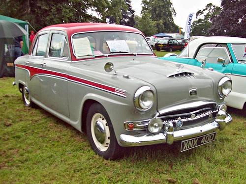 westminster austin a95 1950s british bmc shugborough xnx400