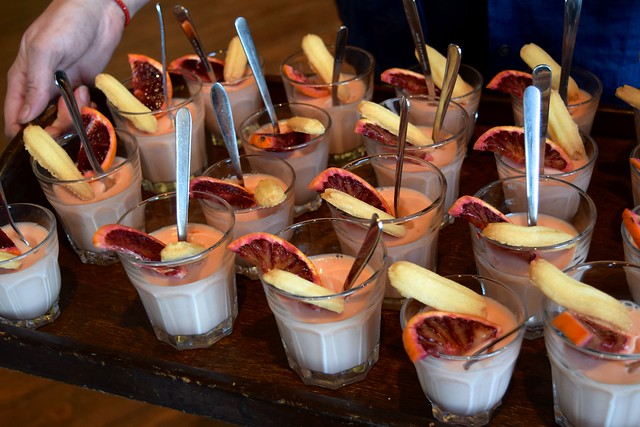 Blood Orange & Lemon Posset by Anna Hedworth