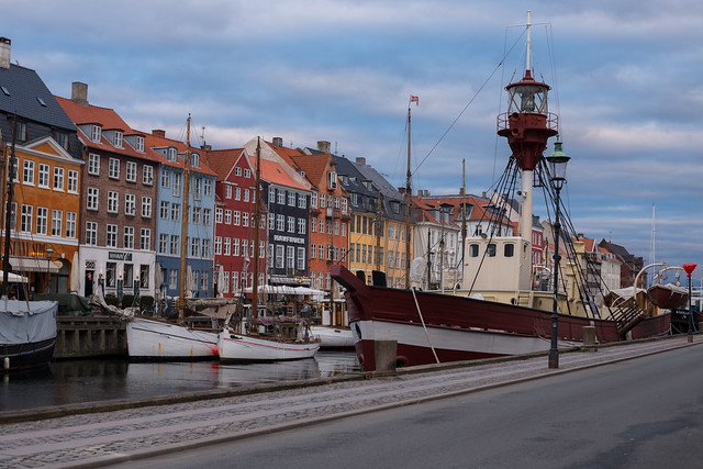 Nyhavn at Sunset - Copenhagen