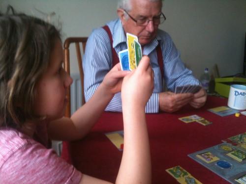 At nanny and granddad