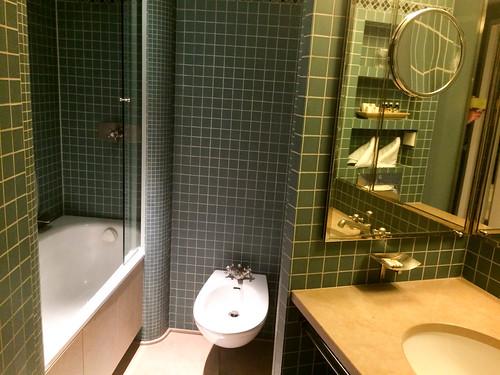 Detalle del baño del piso inferior
