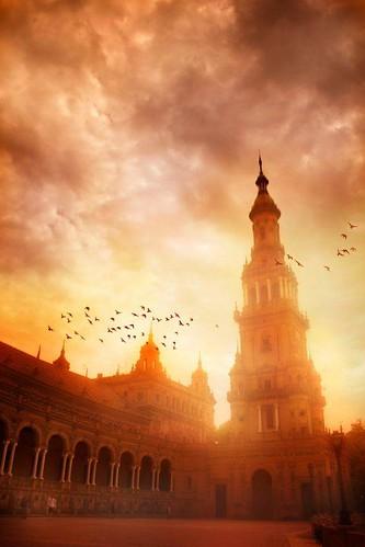 Atardecer en Sevilla
