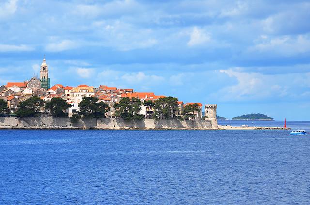 Korcula town, Korcula, Croatia