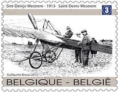 09 100 jaar eerste luchtpost Timbre A