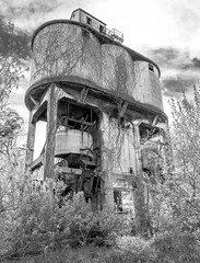 RR coaling towers & bridges
