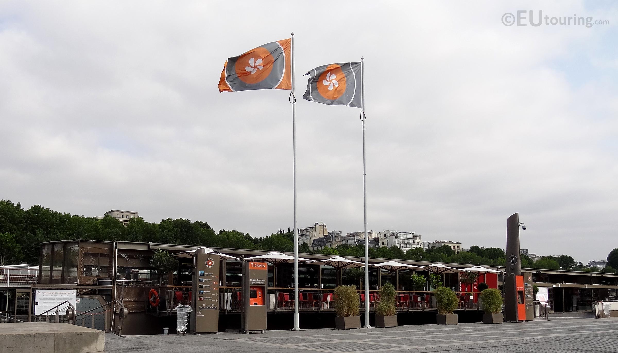 Bateaux Parisiens floating restaurant