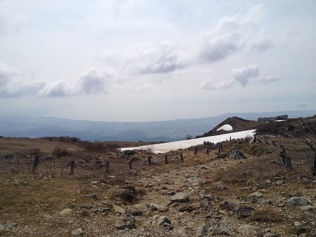 伊吹山 山頂 琵琶湖方面の眺望