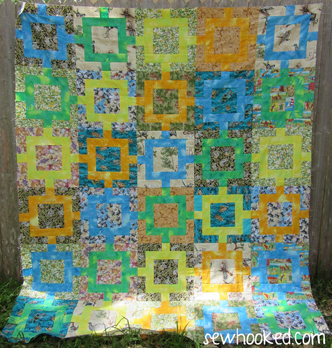 Chocolate Box Quilt Sewhooked