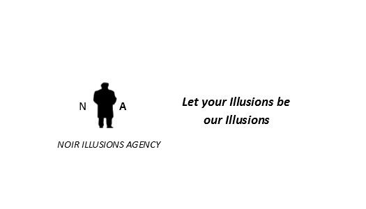 Noir Illusions Bumper Sticker