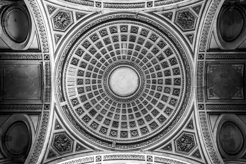 Le Panthéon, ceilings