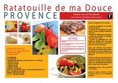 Recette - Ratatouille de ma Douce Provence