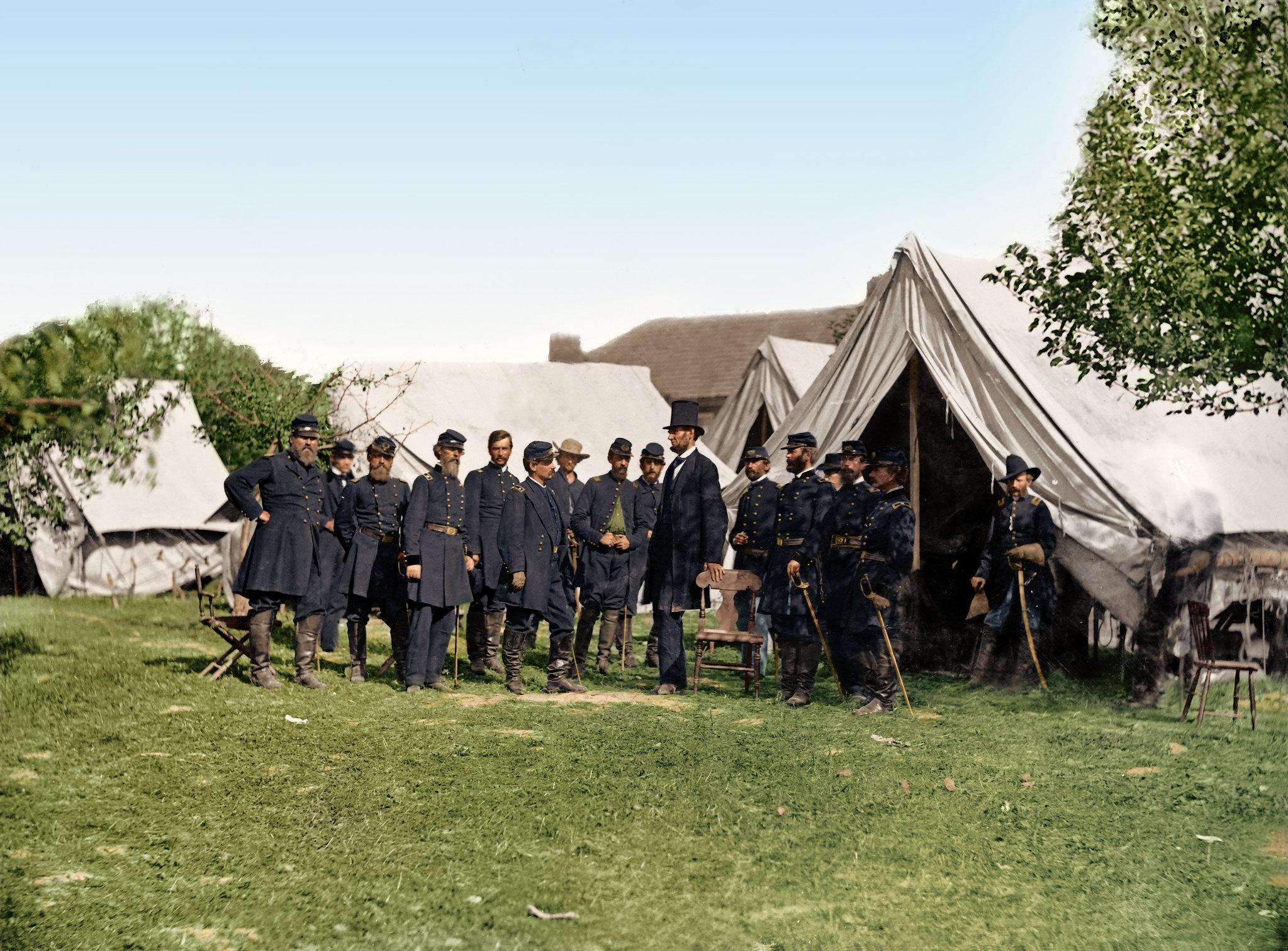 American Civil War Colorized