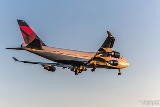 Delta Air Lines l N666US l Boeing 747-400-4