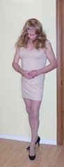 More of the beige dress 5