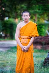 Thai young novice