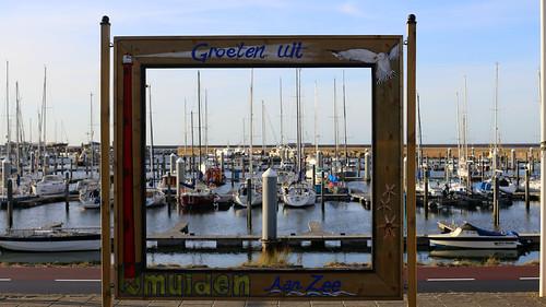 Ijmuiden an Zee