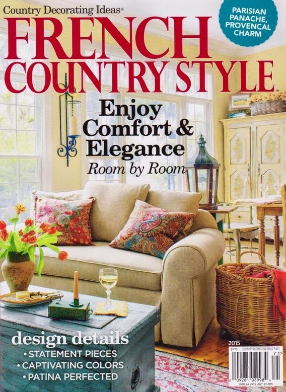 French Country Style Magazine 2015-Housepitality Designs