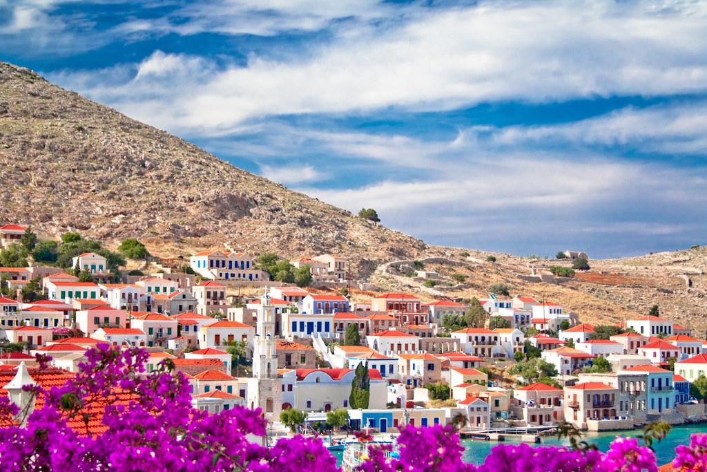 Chalki isalnd. Dodecanese, Greece.
