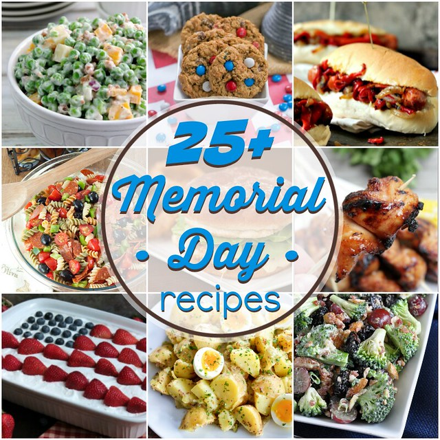 More than 25 recipes perfect for Memorial Day - and all summer long!