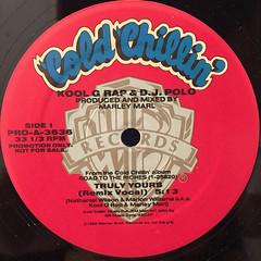 KOOL G RAP & DJ POLO:TRULY YOURS(LABEL SIDE-A)