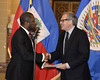 New Permanent Representative of Haiti to the OAS Presents Credentials