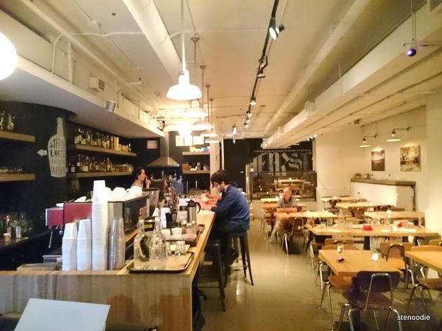 Page One Café interior