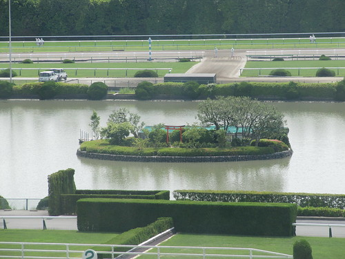 京都競馬場の弁天島