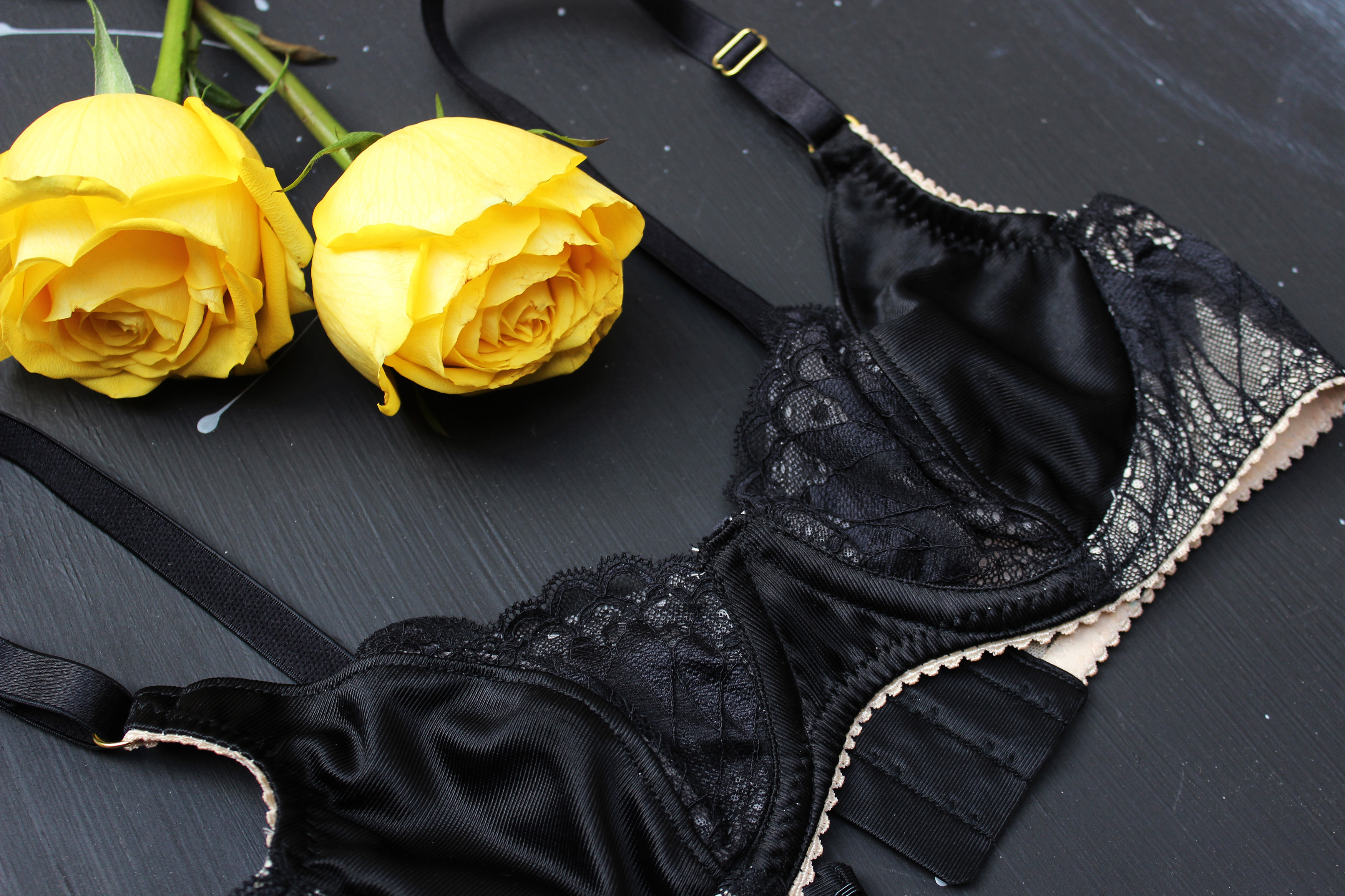 DIY Black Peach Merckwaerdigh Mix30 Bra Tailor Made Shop