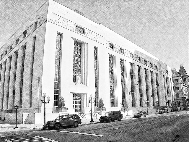 Albany New York ~ State Capital ~  James T. Foley U.S. Post Office and Courthouse ~ Historic