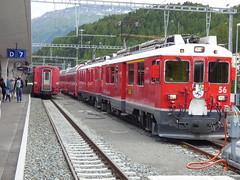 Bernina Express - Pontresina to St Moritz