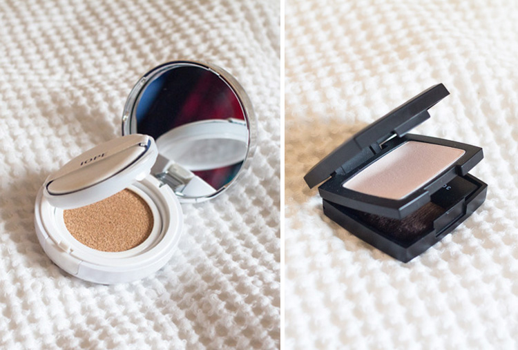 Gone beauty shopping IOPE CUSHION COMPACT and 3CE Highlighter PINK