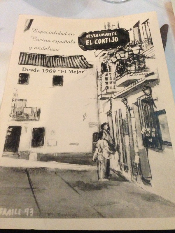 One restaurant you must try: El Cortijo