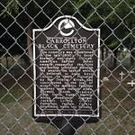 Carrollton Black Cemetery CHSM