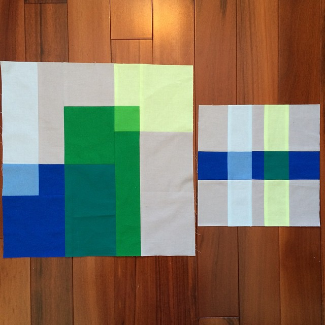 Two transparency blocks.