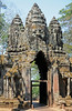Angkor Thom Gate Tower, Cambodia