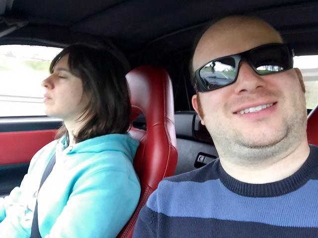 MR2 Roadtrip selfie