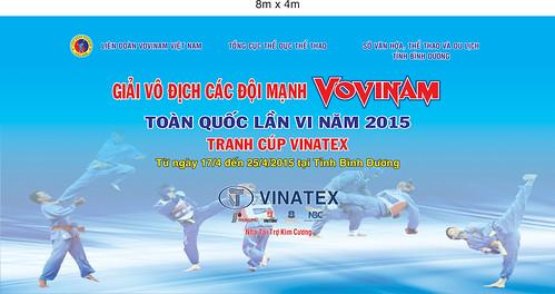 Giải vô địch các đội mạnh Vovinam toàn quốc lần thứ VI năm 2015 tranh Cúp VINATEX