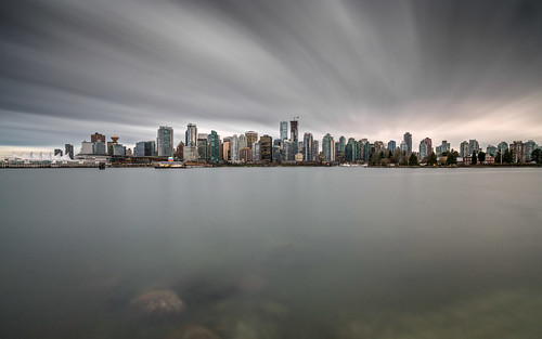 Vancouver Skyline. Fine Art Photography by Daniel Burdett