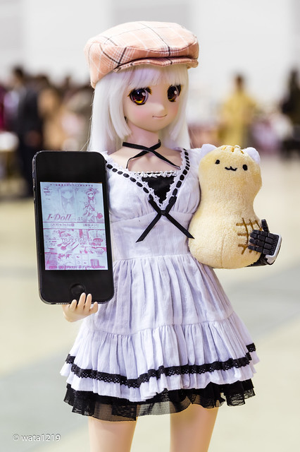 [I Doll vol.43] Mayu and Peanut Cat (1)