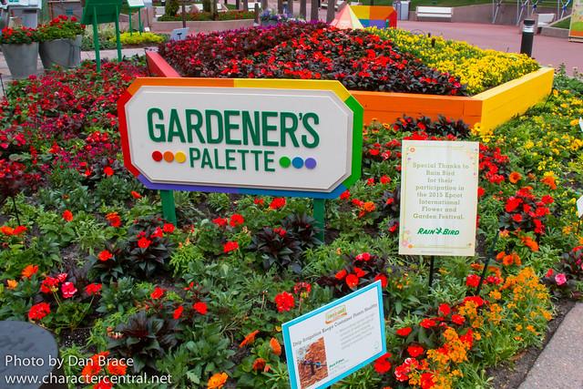 Epcot International Flower and Garden Festival 2015