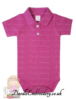 Polo Body Suit - Cerise copy