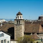 Geneva, View from Old Town Hilltop - Switzerland