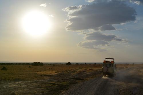 africa sunset sky sun ol jeep kenya african safari conservancy pejeta