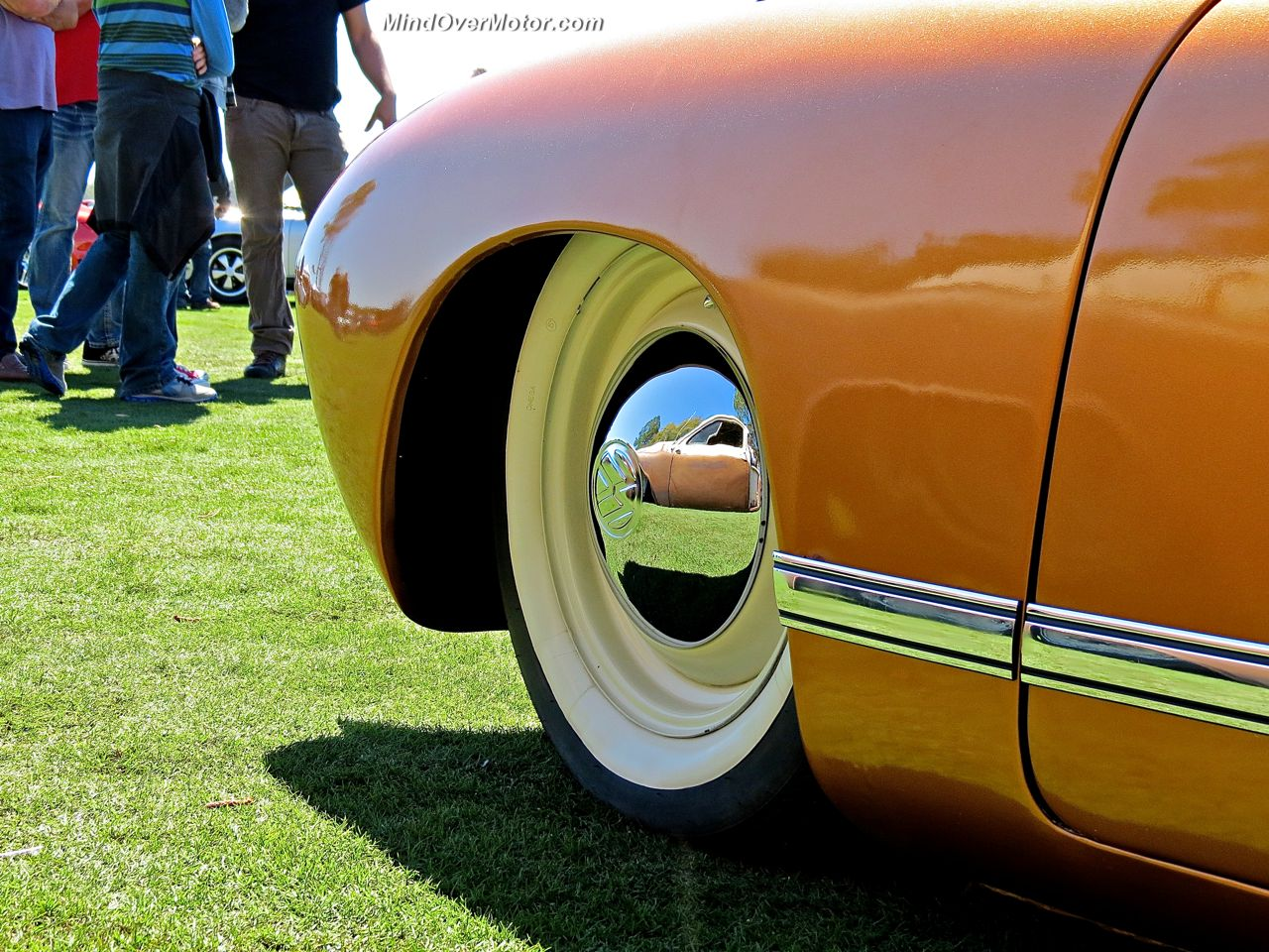 Slammed VW Ghia Wheel