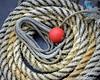 Coiled rope, Alcatraz Pier