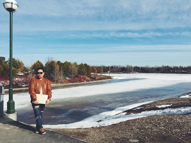 Blogging On The Go Photoshoot